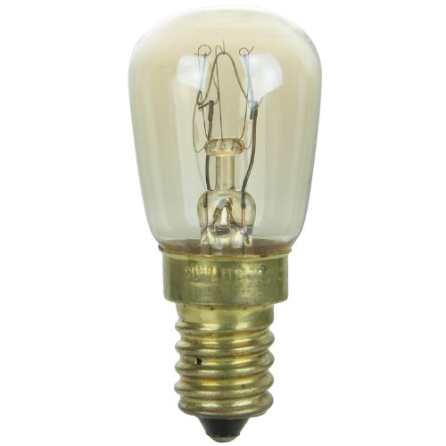 Sunlite 15WPR/E14 Incandescent 15-Watt, European Based, PRE Bulb, Clear