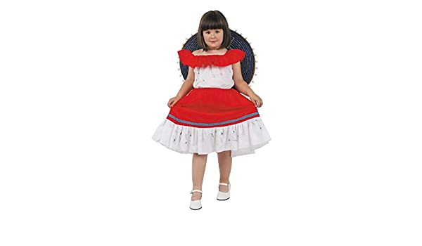 DISBACANAL Disfraz mejicana Infantil - Único, 8 años: Amazon.es ...