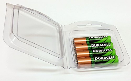 Duracell 4-pk Ni-MH AAA DC2400 Rechargeable Batteries 800 mah - Pre-Charged