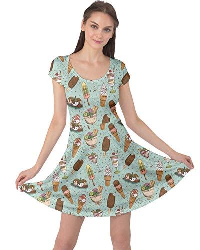 CowCow Womens Casual Long Dress Tie Dye Watercolor Boho Summer Empire Waist Maxi Dress, XS-5XL