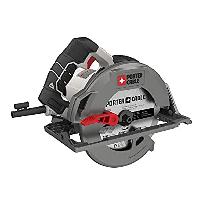 """PORTER-CABLE PCE310 15 Amp 7-1/4"""" Heavy Duty Magnesium Shoe Circular Saw"""