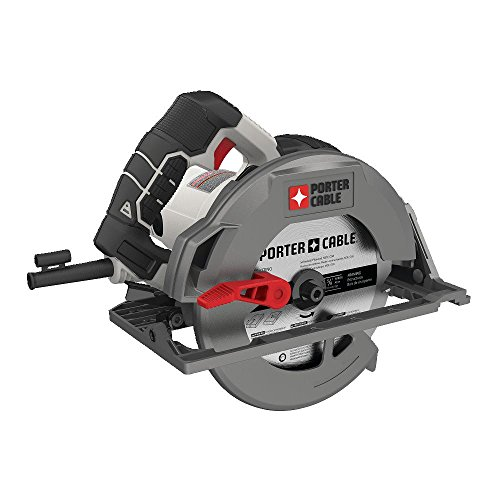 PORTER-CABLE PCE310 15 Amp 7-1/4″ Heavy Duty Magnesium Shoe Circular Saw
