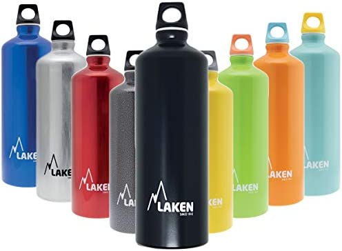 Laken Futura Botella de Agua, Cantimplora de Aluminio Boca ...