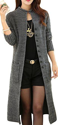 Argyle Cardigan Sweater - 3