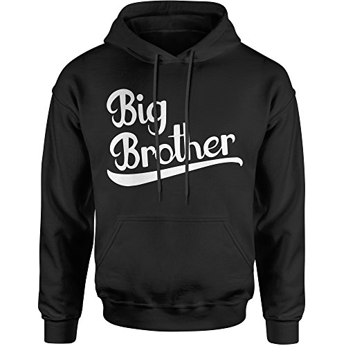 Expression Tees Hoodie Big Brother Adult Large (Big Brother Hooded Sweatshirt)