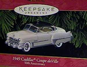 Hallmark Keepsake Ornament, 1949 Cadillac Coupe De Ville, 50th Anniversary by Hallmark