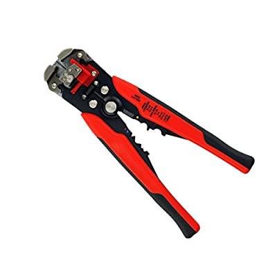 Huluwa Wire Stripper, Self-Adjusting Wire Terminal Crimper, Multifunctional Automatic Wire and Cable Stripper Plier, Wire Stripping Tool