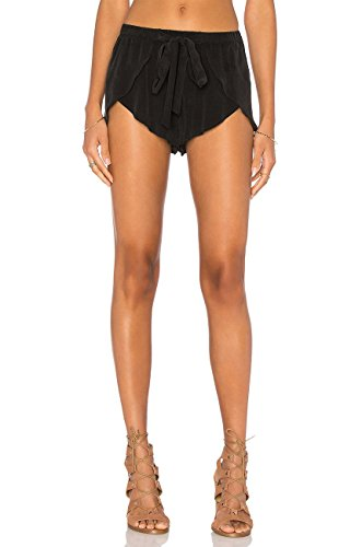 Zia Wrap Shorts | Black by Merritt Charles