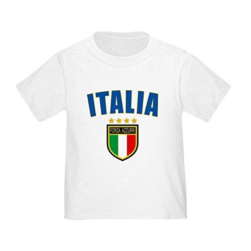 CafePress Italian Pride Toddler T Shirt Cute Toddler T-Shirt, 100% Cotton White
