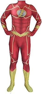 KYOKIM NiñO Adulto Flash Ropa Cosplay Vestido Superhéroe ...