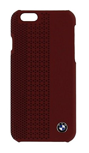 BMW - Signature Perforated Leather - Hard Cover/Case re - for Apple iPhone 6