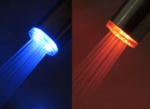 Ldr 530 2165tl Led Faucet Aerator Red To Blue Temperature
