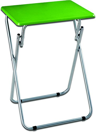 Inalsa Mesa Plegable Auxiliar Tapa Verde, Metal, 48X38X66 Cm ...