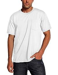 Pro Club Men's Heavyweight Cotton Short Sleeve Pocket T-Shirt