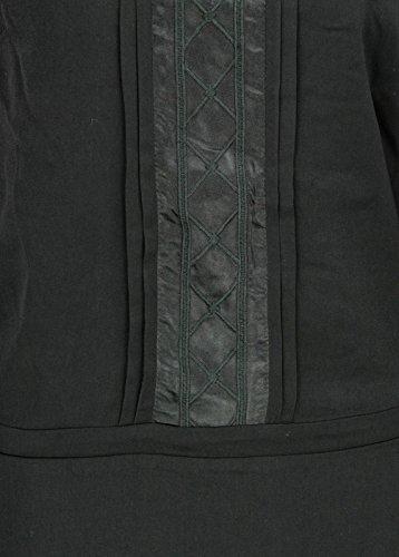 BROADWAY NYC - Vestido - camisa - Básico - Manga Larga - para mujer negro