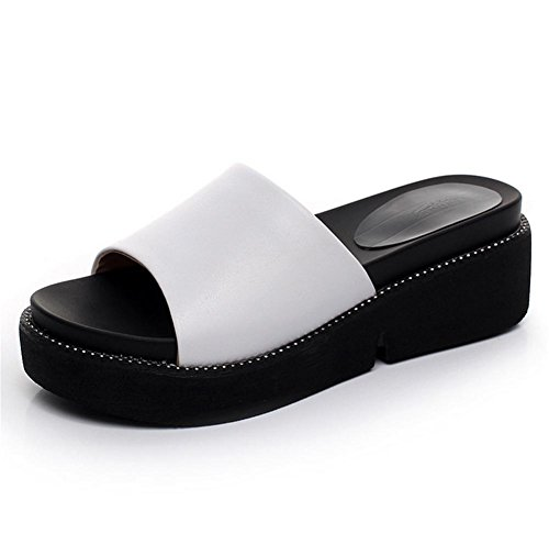 tendance d'¨¦t¨¦ ¨¦pais de pantoufles fond des d¨¦contract¨¦es pantoufles mode 3 avec dames de avec pengweiPantoufles des q85fCC