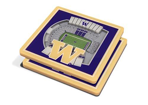 NCAA Washington Huskies 3D StadiumViews - Huskies Beverage Washington