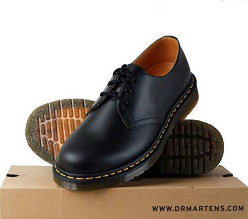 Dr. Martens - Zapatos de cordones para hombre Negro negro
