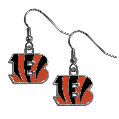 Cincinnati Gift - Siskiyou Gifts Co, Inc. NFL Cincinnati Bengals Dangle Earrings