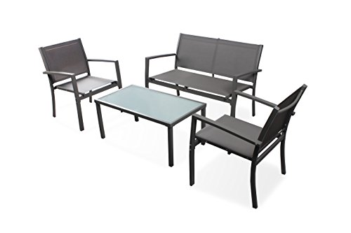 Ostrich Woodcliff Lake Four-Piece Patio Set