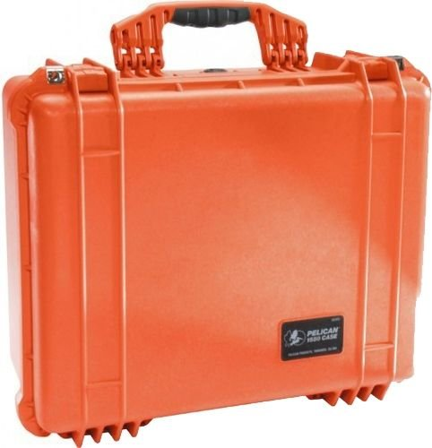 Pelican 1550NF Case No Foam Orange 1550-001-150 (Pelican Case 1550 Orange)
