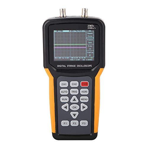 Jinhan JDS2022A ハンドヘルドデジタルストレージオシロスコープ 2CH 20MHz 200MSa/sスコープ 30,000wfm/s