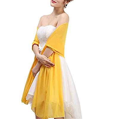 Verabeauty Women Soft Long Chiffon Scarf Bridesmaid Shawls and Wraps B041
