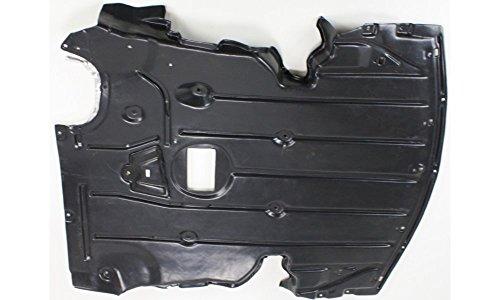 Evan-Fischer EVA20172019163 New Direct Fit Engine Splash Shield Plastic Engine Under Cover Includes aluminum pad Replaces Partslink# BM1228118 Front (Splash 328i Bmw Shield)