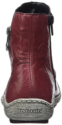 Rieker R1475 - Zapatillas de casa para mujer Rojo (wine / 35)