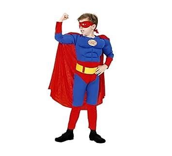 Disfraz de Héroe Musculoso 10-12 años para niño: Amazon.es ...