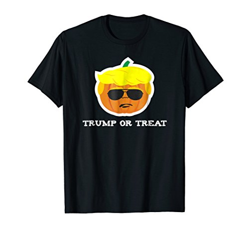 Donald Trump Halloween Pumpkin Treat Funny President -