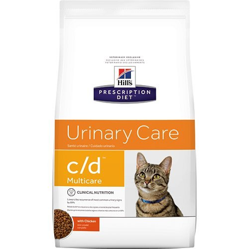 Image of Hill's Prescription Diet c/d Multicare Urinary Care with Chicken Dry Cat Food 4 lb