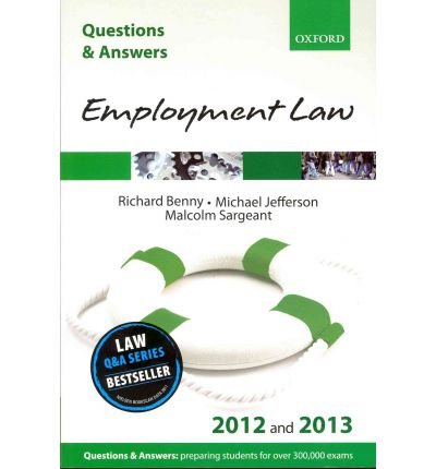 Q & A Revision Guide: Employment Law by Jefferson, Michael ( Author ) ON Jan-12-2012, Paperback