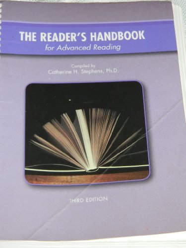 The Reader's Handbook for Advanced Reading, 3rd Edition