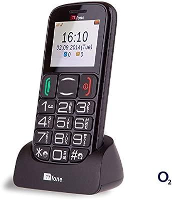 TTfone Mercury 2 TT200 O2 - Teléfono móvil libre con tarjeta ...