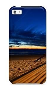 Lmf DIY phone caseHigh Grade ZippyDoritEduard Flexible Tpu Case For iphone 5c - Beach Blue SkiesLmf DIY phone case