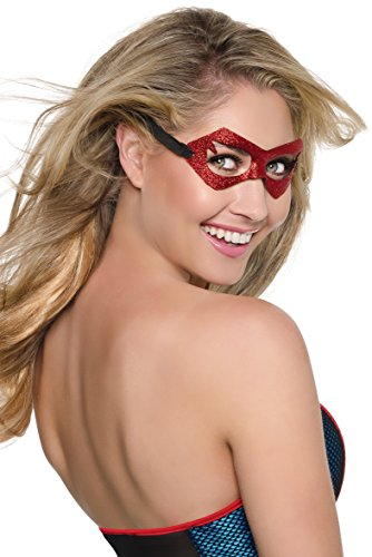 Rubie's Costume Co Women's DC Superheroes Supergirl Mask, Multi, One Size (Supergirl Halloween)