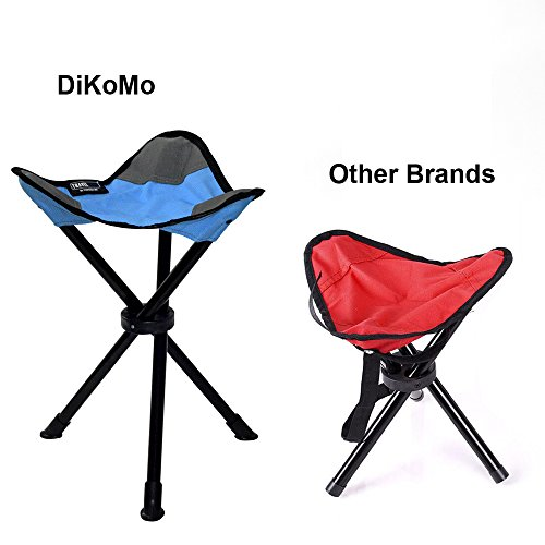 DiKoMo Portable Tripod C&ing Stool Folding Lightweight Seat for Sitting Heavy Duty 3 leg Chair For  sc 1 st  Lifestyle Updated & DiKoMo Portable Tripod Camping Stool Folding - Lightweight Seat ... islam-shia.org