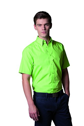 Kustom Kit - Camisa formal - para hombre Verde