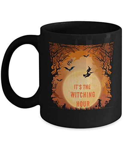 (It's The Witching Hour Black Halloween)