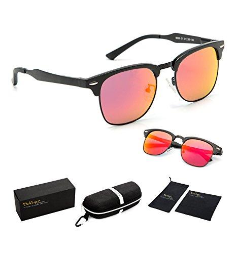 dollger-clubmaster-polarized-wayfarer-sunglasses-horn-rimmed-half-frame-red-mirror-lens-black-frame
