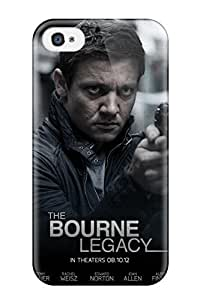 Iphone 4/4s Cover Case - Eco-friendly Packaging(aaron Cross Jeremy Renner Firearms People Movie)