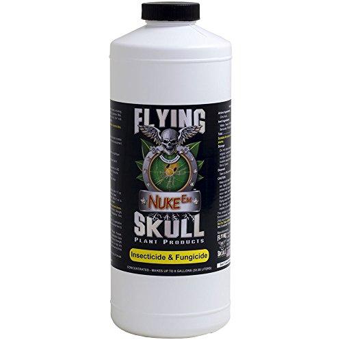 Flying Skull Custos Plantam Plant Products FSIN102 704506 Fertilizer, Brown/A