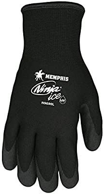 Memphis N9690M Ninja Ice Double Layer Nylon Gloves Size Medium (2 Pair)