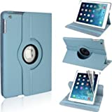 Premium Quality Apple Ipad 2 / Ipad 3 / Ipad 4 Case 360 Rotation View Leather Covers, Case Protection For iPad2/3/4 Model 2011-2012 A1395, A1416, A1403, A1430, A1458,A1459, A1460
