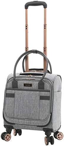 kensie 3 Piece Luggage Set, Heather Gray