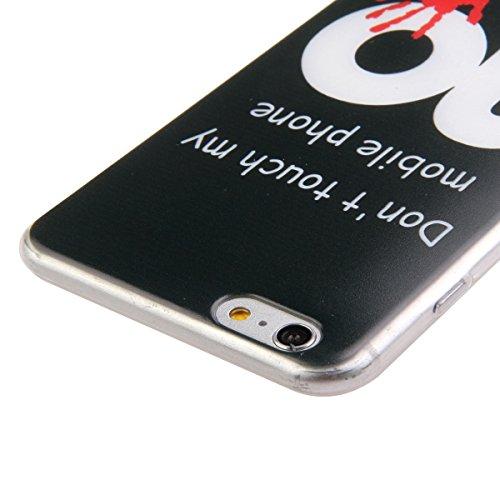 Apple iphone 5/5s Hülle, Ekakashop Ultradünnen Weiche TPU Silikon Crystal Klar Kratzfeste Transparente Handytasche Handyhüllen Zurück Case für iphone 5s, Ultra Slim Durchsichtig mit Blutige Palme Must