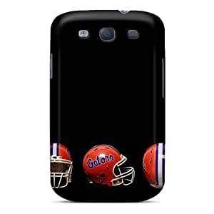 Shock Absorbent Hard Phone Cover For Samsung Galaxy S3 (jgA26193iQEf) Customized HD Florida Gators Helmet Image