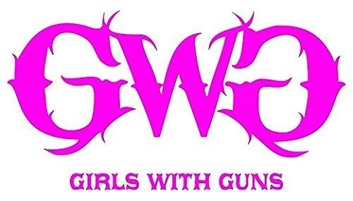 GWG Girls with Guns Printed 5 Inch Sticker Decal Die Cut Sticker Graphic - Car Sticker Laptop Sticker