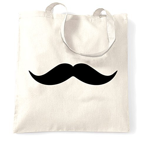 Canvas Tote Shopping Bag Moustache Swag Cool Hipster Feel Like A Sir Meme Monacle Top Hat Mens Womens Gift Swagger Funny Design Facial Hair Cute Eco-Friendly Reusable Natural Handbag for Women